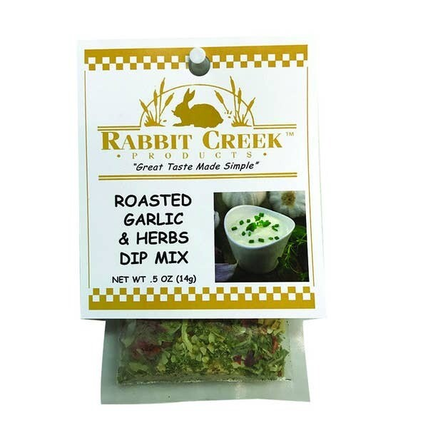 Roasted Garlic & Herbs Dip Mix