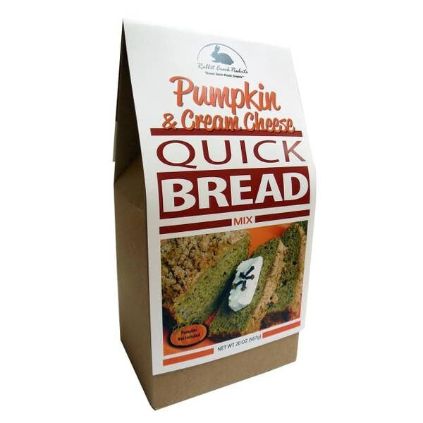 Pumpkin and Cream Cheese Quick Bread Mix
