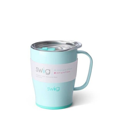 Sea Glass Insulated Swig Mug