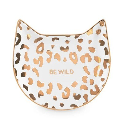 White Leopard Tea Tray