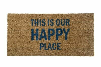 This is Our Happy Place Door Mat