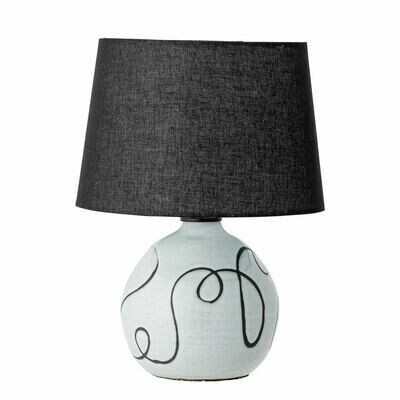 Abstract Terra-Cotta Table Lamp