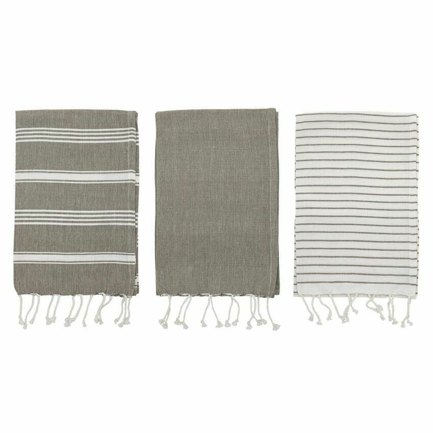 Set of 3/ Cotton Tea Towels
