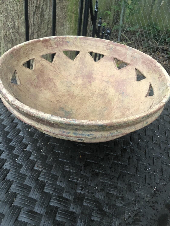 Large Terra Cotta Bowl