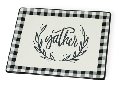 Gather Check Platter