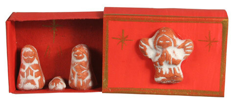 Matchbox Clay Nativity Red