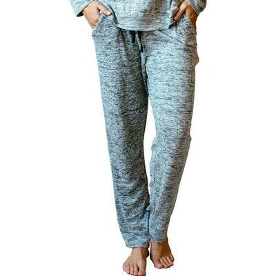 Jersey Knit Hello Mello Lounge Pants Grey