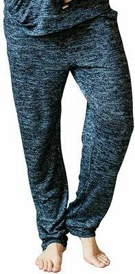 Jersey Knit Hello Mello Lounge Pants Black