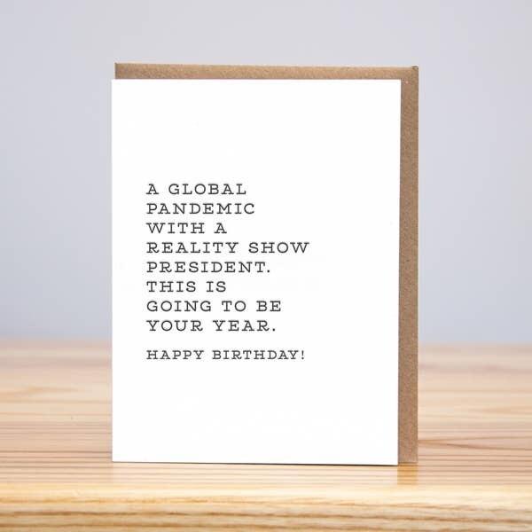 Global Pandemic Greeting Card