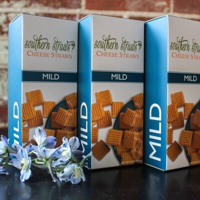 Southern Cheese Straws Individual Size- Mild
