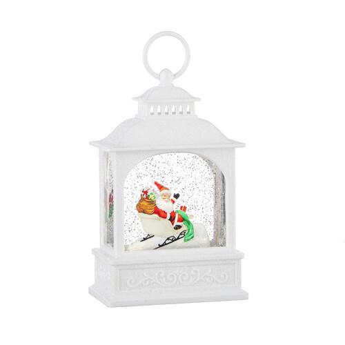 Santa in Lantern