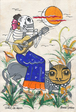 Cat Company Postcard