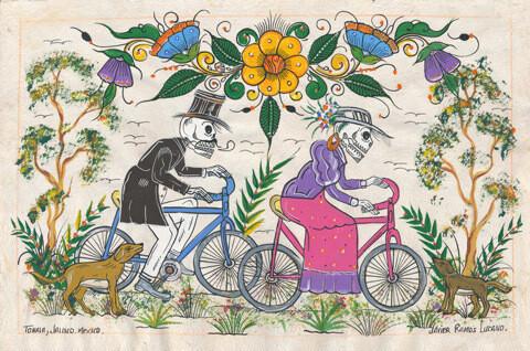 Sunday Ride Postcard