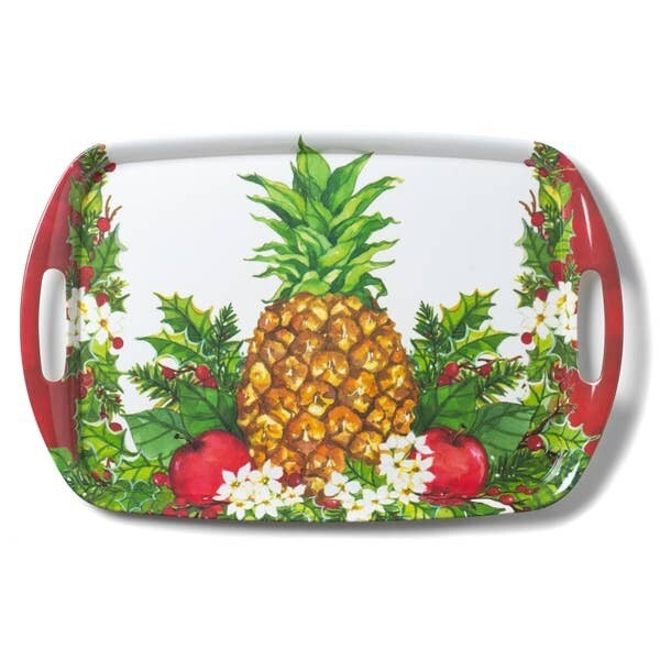 Christmas Pineapple Serving Tray