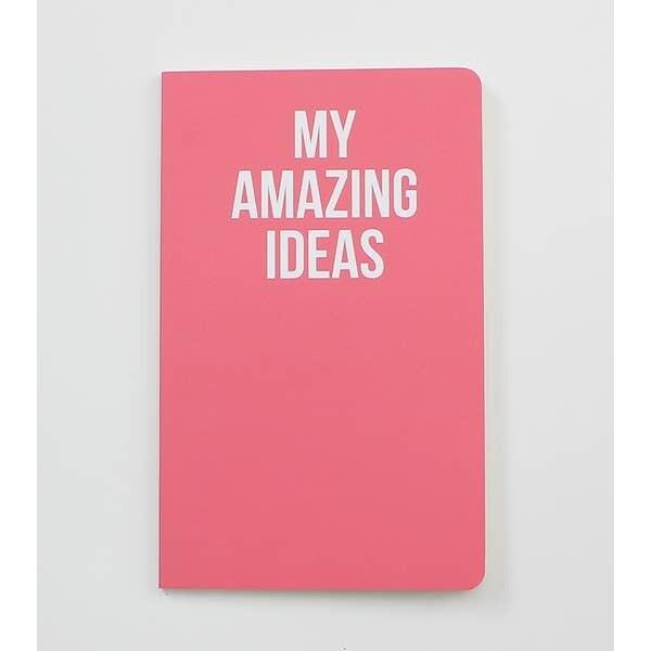 My Amazing Ideas Notebook
