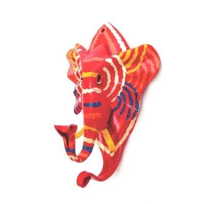 Painted Elephant Hook