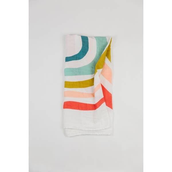 Rainbow Swaddle Blanket