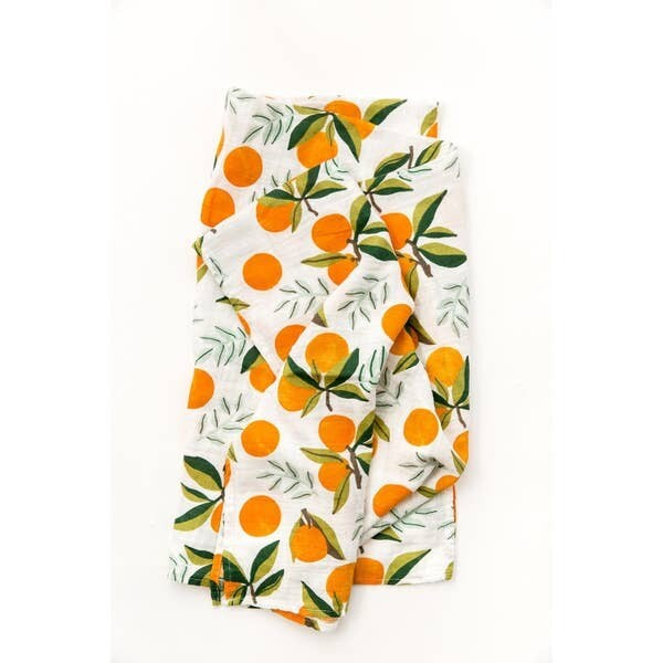 Clementine Swaddle Blanket