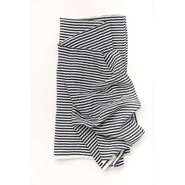 Black and White Swaddle Blanket