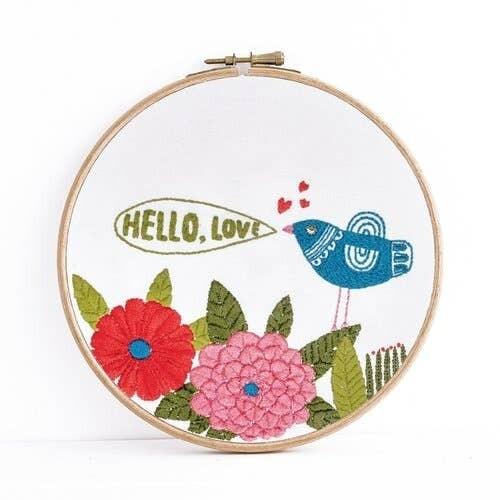 Hello Embroidery Kit