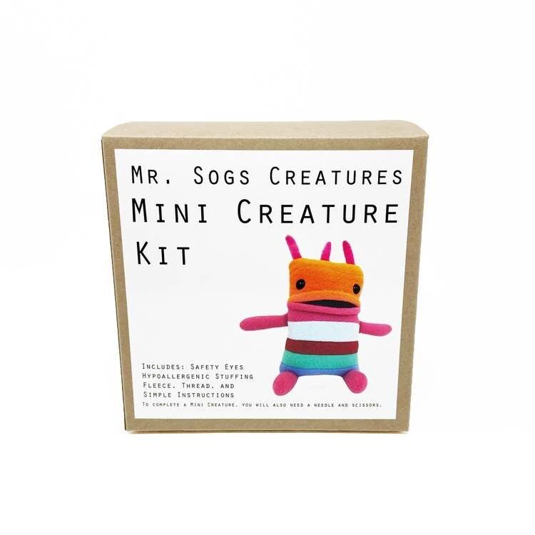 Mr. Sogs Creature DIY Sewing Kit.. Orange