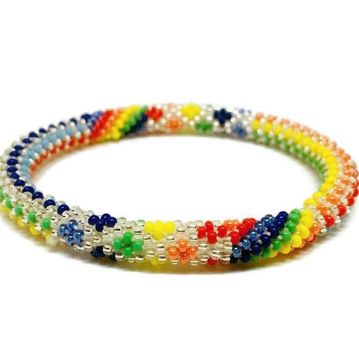 "Nepal Beaded Bracelet ""Love at First Sight"""
