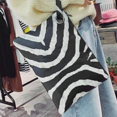 Bailey Zebra Clutch