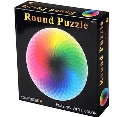 1000 piece Round Puzzle