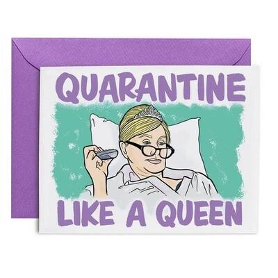Quarantine Queen Sonja Card