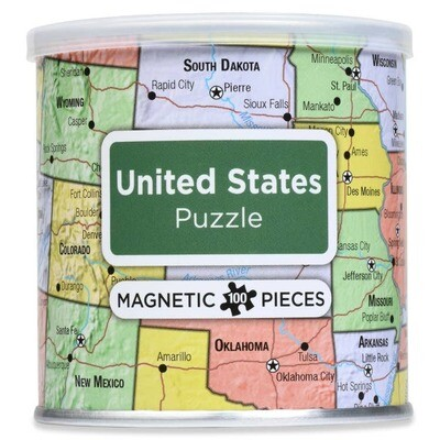 Magnetic Puzzle United States