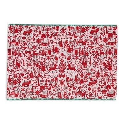 Reindeer Embellished Placemats