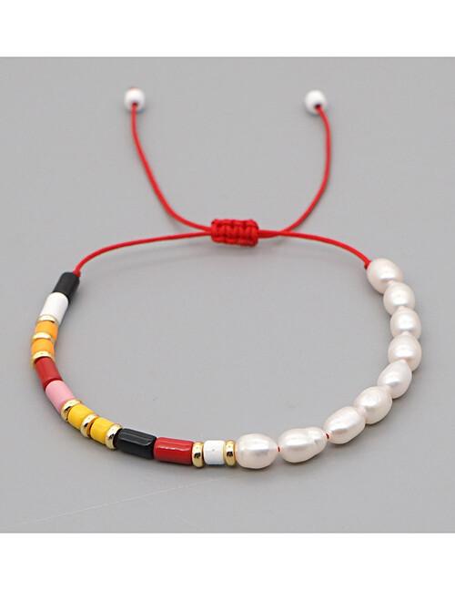 Dainty Pearl Black Colored Enamel Beads