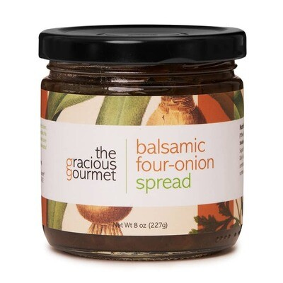 Balsamic Four-Onion Spread