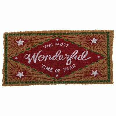 The Most Wonderful Time of Year Doormat