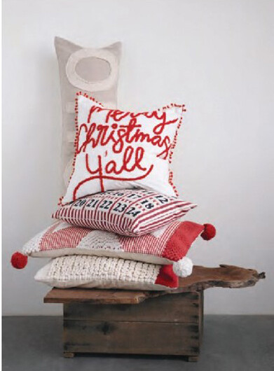 Merry Christmas Y'all Pillow