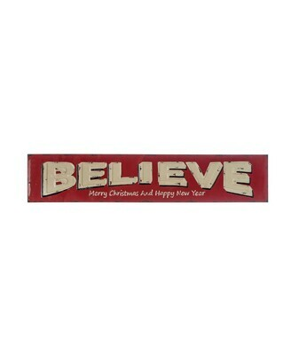 Believe - Merry Christmas & Happy New Year