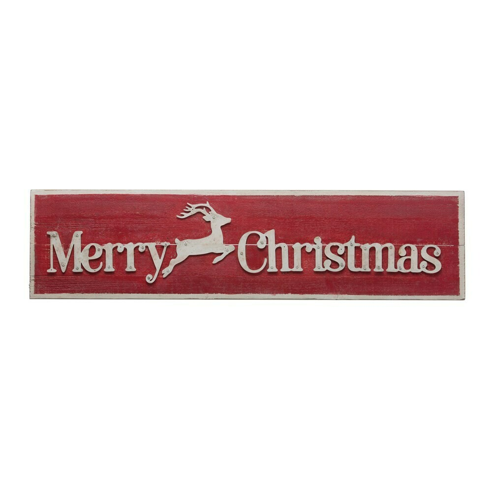 Merry Christmas Wood Wall Decor