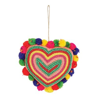 Glass Bead Heart
