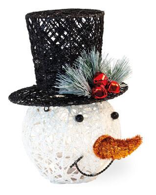 Top Hat LED Snowman