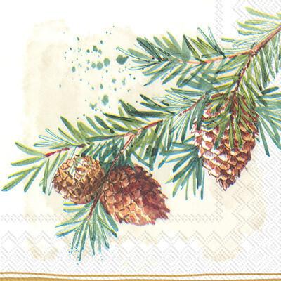 Decorative Branches Cocktail Napkins