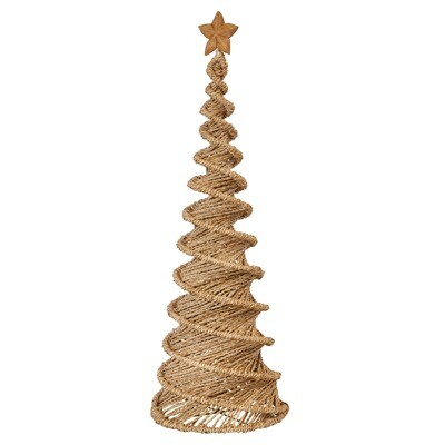 "30"" Tall Hand Woven Spiral Tree"