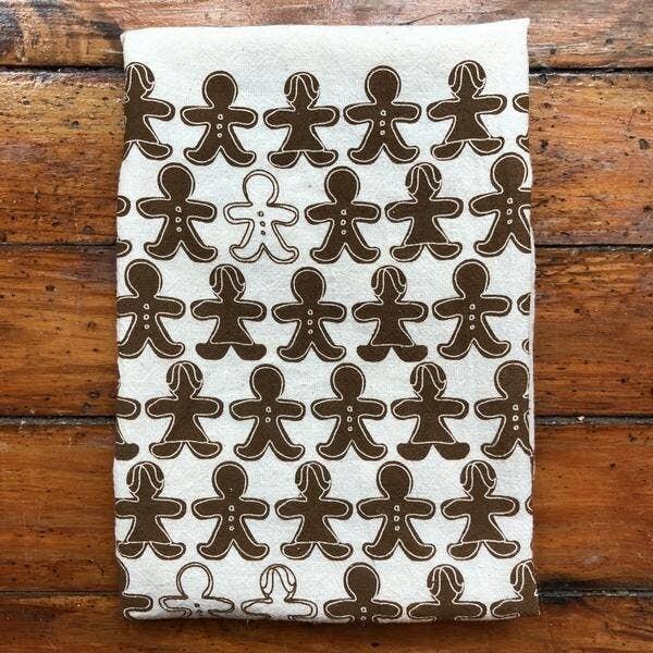 Gingerbread Tree Tea Towel