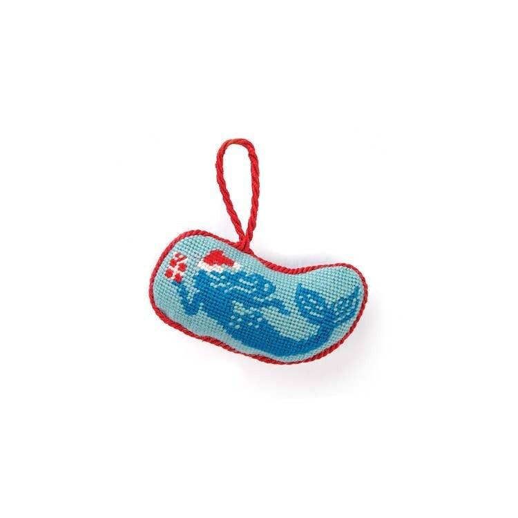 Mermaid Needlepoint Ornament