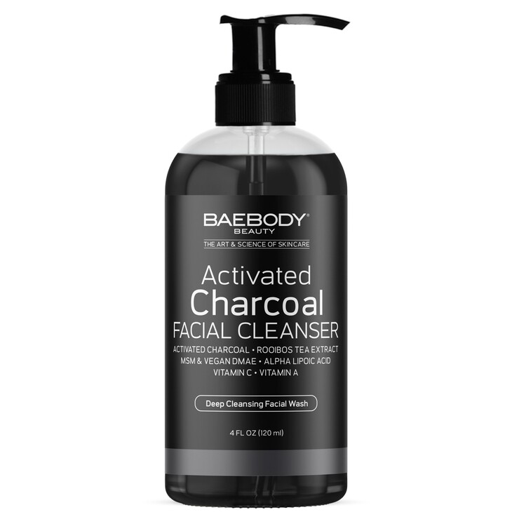 BaeBody Activated Charcoal Facial Cleanser