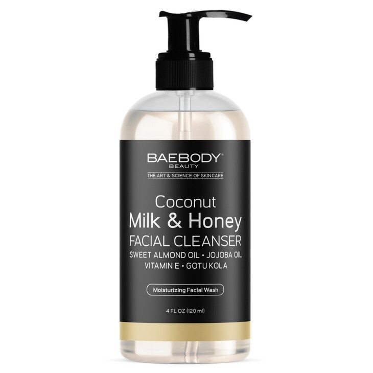 BaeBody Coconut Milk & Honey Facial Cleanser