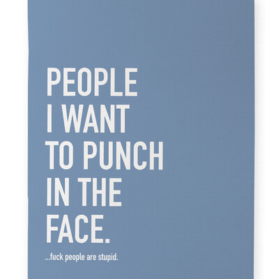 People I Want To Punch Notebook