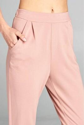 Dusty Pink Woven Pants
