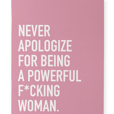 Powerful Woman Notebook