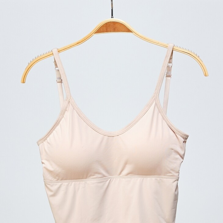 Wide Band Bralette in Nude