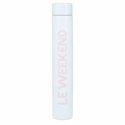 Le Weekend Slim Flask